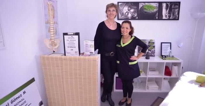 maribel-and-denisse-livet-med-gigt-quesada-Massage -Osteopathy